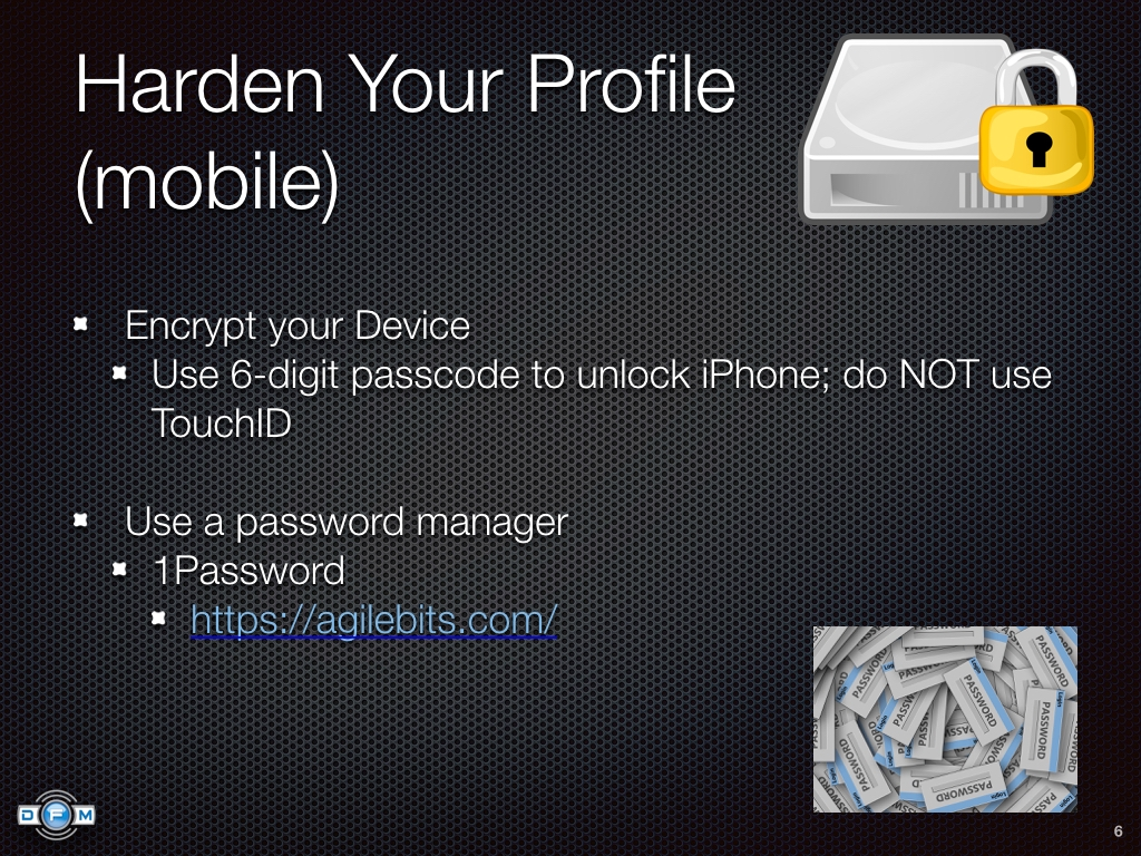Harden Your Profile (mobile)