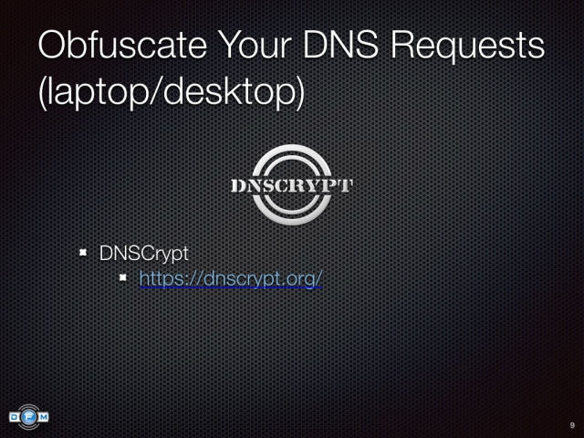 Obfuscate Your DNS Requests (laptop/desktop) - DNSCrypt